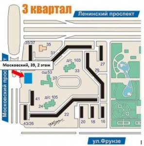 "Схема проезда Компания ООО ""КосТол-Сервис"""