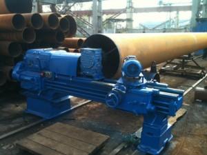 Фото оборудования для правки и восстановления труб