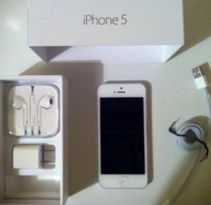 айфон 5 в упаковке
