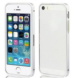 Алюминиевый бампер для iPhone 5/5s серебряный фото