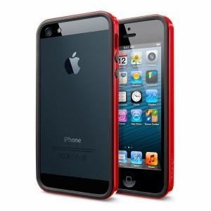 Бампер для iPhone 5/5s красный фото