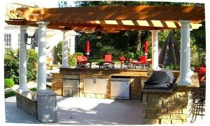 Фото летняя кухня на даче