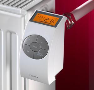 Терморегулятор для радиатора отопления фото